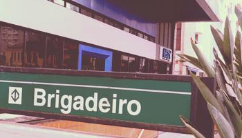 Sala de curso no metrô Brigadeiro