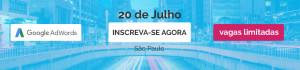 Curso Adwords Avançado São Paulo em Julho